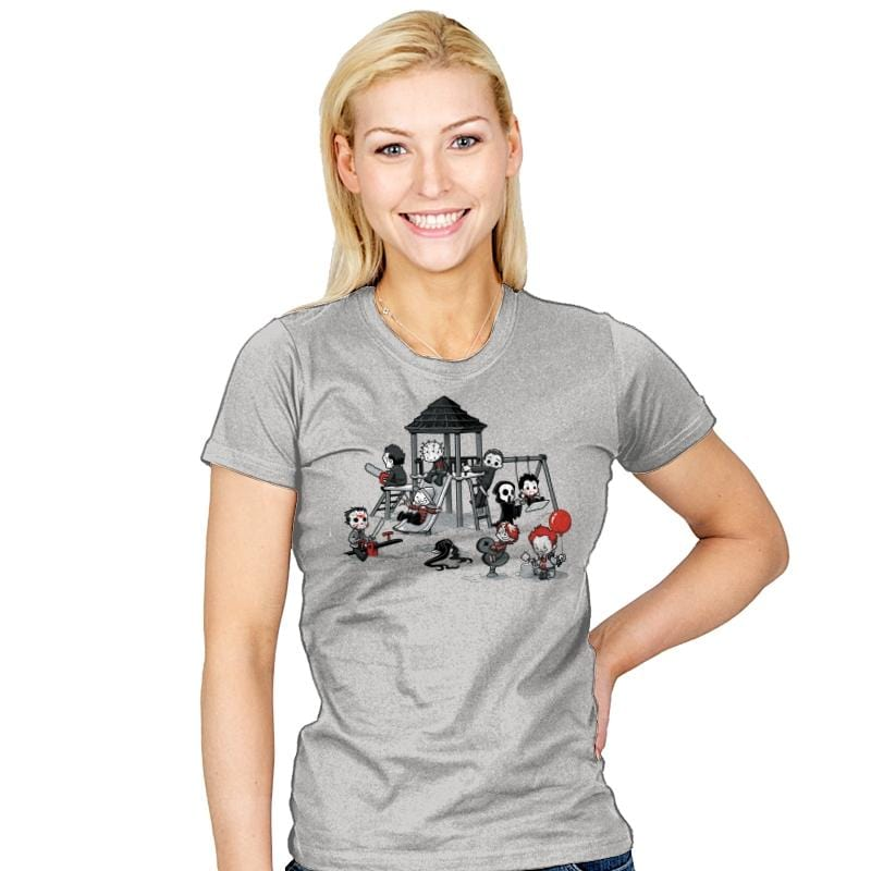 Horror Park - Womens - T-Shirts - RIPT Apparel