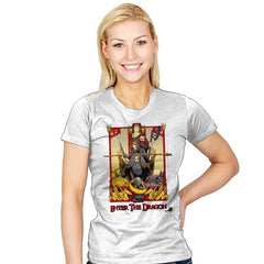 ENTER THE DRAGON - Womens - T-Shirts - RIPT Apparel