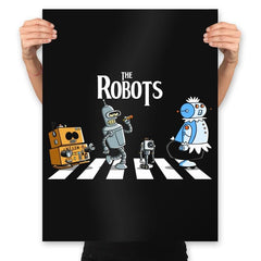 The Robots - Prints - Posters - RIPT Apparel