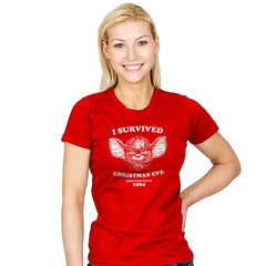 Christmas Eve Survivor - Womens - T-Shirts - RIPT Apparel