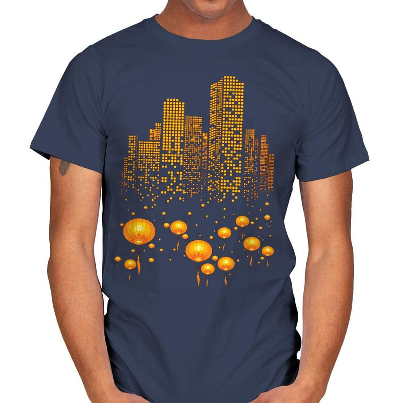 Lantern City - Mens - T-Shirts - RIPT Apparel