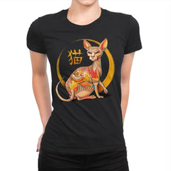Yakuza Cat - Womens Premium - T-Shirts - RIPT Apparel