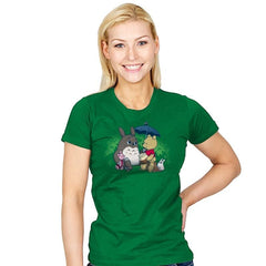 Forest Friends - Womens - T-Shirts - RIPT Apparel