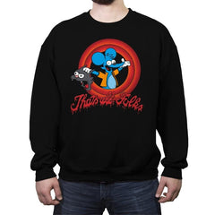 That's All Folks - Crew Neck Sweatshirt - Crew Neck Sweatshirt - RIPT Apparel