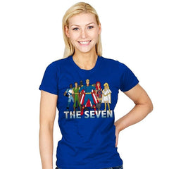 Cartoon Seven - Womens - T-Shirts - RIPT Apparel