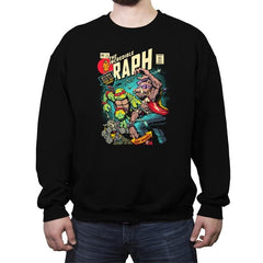 The Incredible Raph  - Crew Neck Sweatshirt - Crew Neck Sweatshirt - RIPT Apparel