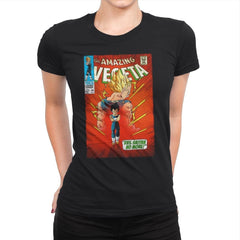 The Amazing Vegeta Exclusive - Womens Premium - T-Shirts - RIPT Apparel