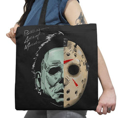 Ruthless Acts of Murder - Record Collector - Tote Bag - Tote Bag - RIPT Apparel