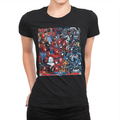 Spides VS Symbs - Best Seller - Womens Premium - T-Shirts - RIPT Apparel