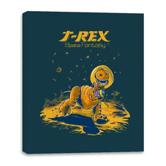 Rex Space Fantasy - Canvas Wraps - Canvas Wraps - RIPT Apparel