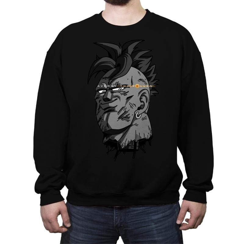Fallen Android - Crew Neck Sweatshirt - Crew Neck Sweatshirt - RIPT Apparel