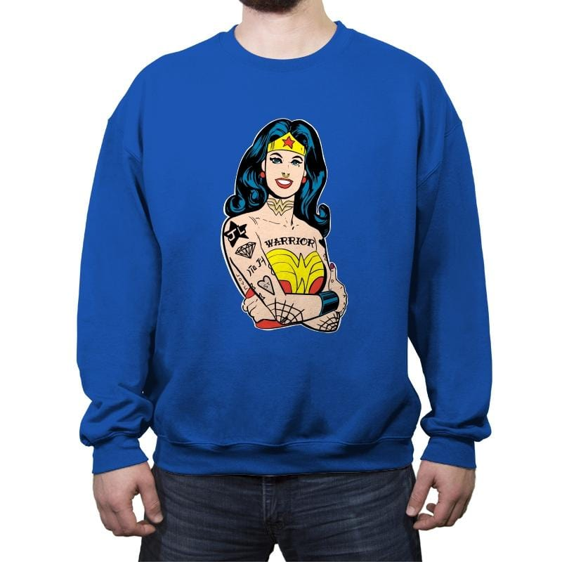 Wonderful Gal - Crew Neck Sweatshirt - Crew Neck Sweatshirt - RIPT Apparel