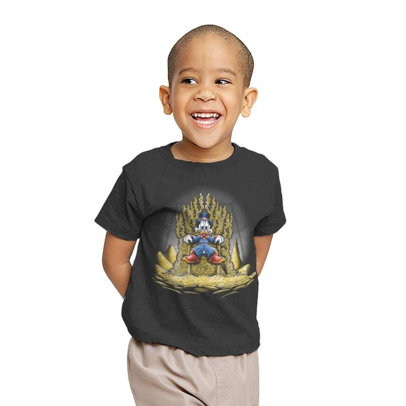 Gold Throne - Youth - T-Shirts - RIPT Apparel