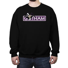 Gothopoly - Crew Neck Sweatshirt - Crew Neck Sweatshirt - RIPT Apparel