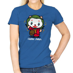 Hello Jokster - Womens - T-Shirts - RIPT Apparel