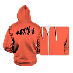 Evolution Hack - Hoodies - Hoodies - RIPT Apparel