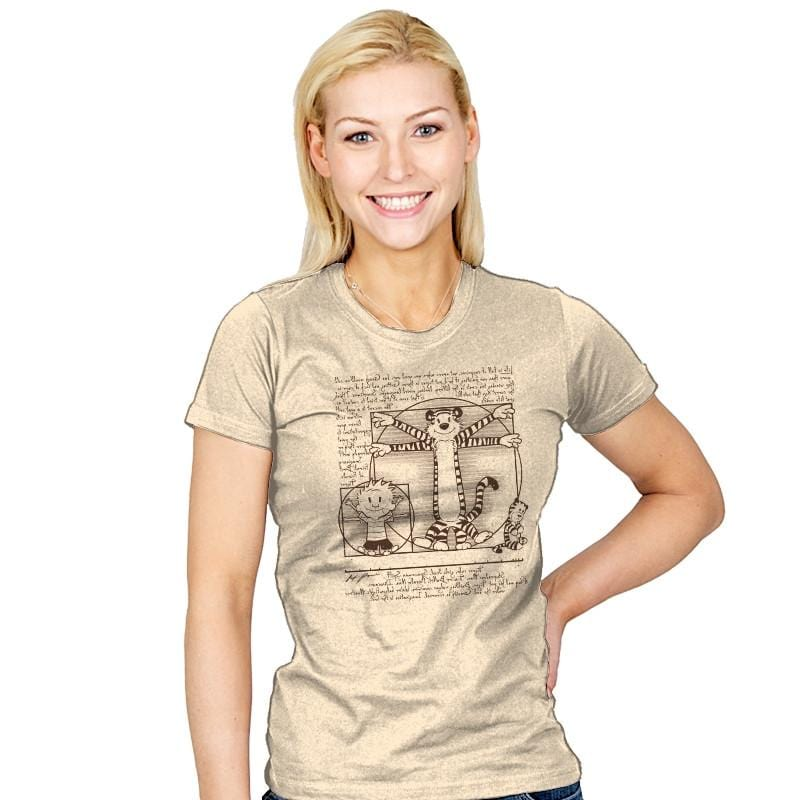 Virtruvian Buddies Exclusive - Womens - T-Shirts - RIPT Apparel