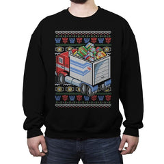 Presents in Disguise - Crew Neck Sweatshirt - Crew Neck Sweatshirt - RIPT Apparel
