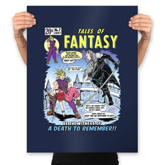 Tales of Fantasy 7 - Prints - Posters - RIPT Apparel