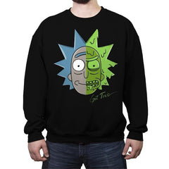Get Toxic! - Crew Neck Sweatshirt - Crew Neck Sweatshirt - RIPT Apparel