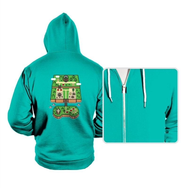Super Console World - Hoodies - Hoodies - RIPT Apparel
