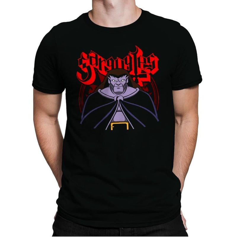 Gargoyle Metal - Mens Premium - T-Shirts - RIPT Apparel