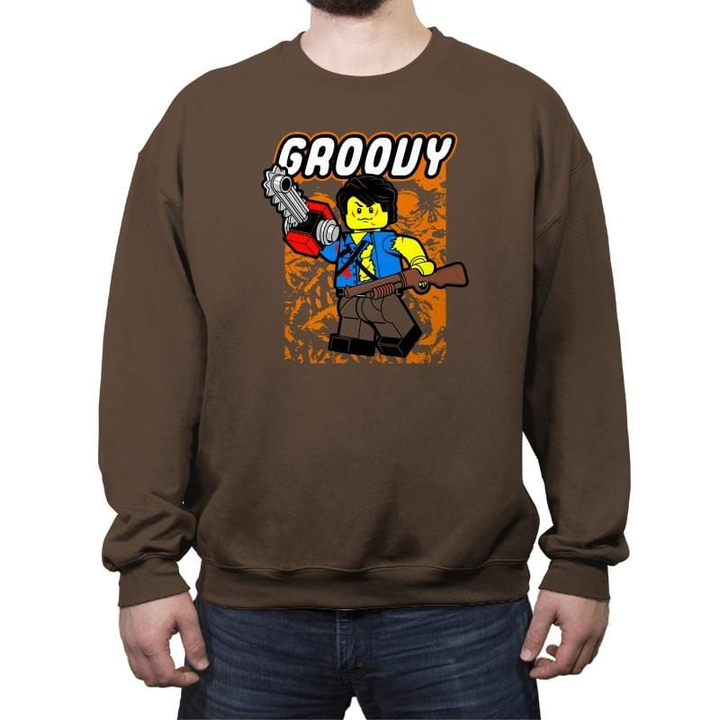 Everthing is Groovy - Crew Neck Sweatshirt - Crew Neck Sweatshirt - RIPT Apparel