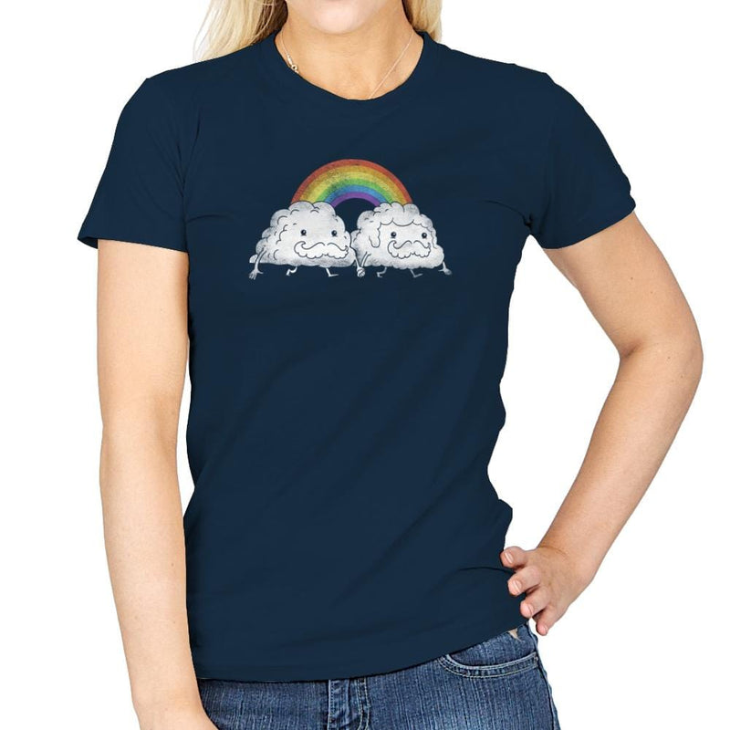 Gay Clouds - Pride - Womens - T-Shirts - RIPT Apparel