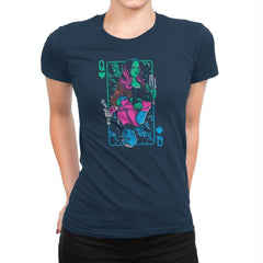 Queens of the Galaxy Exclusive - Womens Premium - T-Shirts - RIPT Apparel