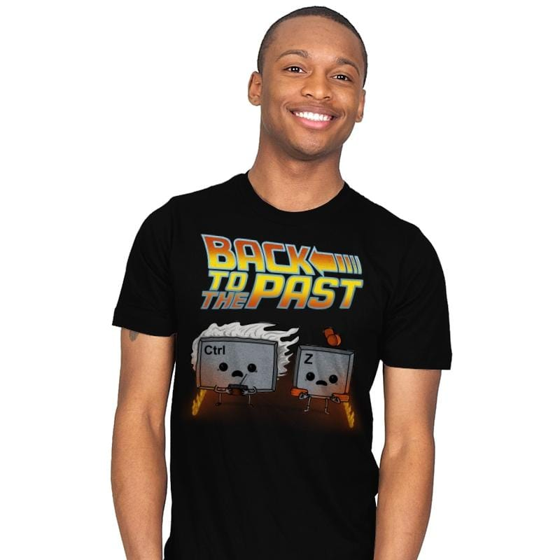 Back To The Past - Raffitees - Mens - T-Shirts - RIPT Apparel
