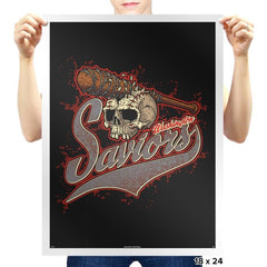 Washington Saviors - Prints - Posters - RIPT Apparel