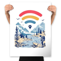 Internet Explorer - Prints - Posters - RIPT Apparel