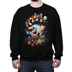Halloween World - Crew Neck Sweatshirt - Crew Neck Sweatshirt - RIPT Apparel