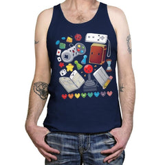 Game World - Tanktop - Tanktop - RIPT Apparel