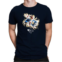16 Bit Battle - 80s Blaarg - Mens Premium - T-Shirts - RIPT Apparel