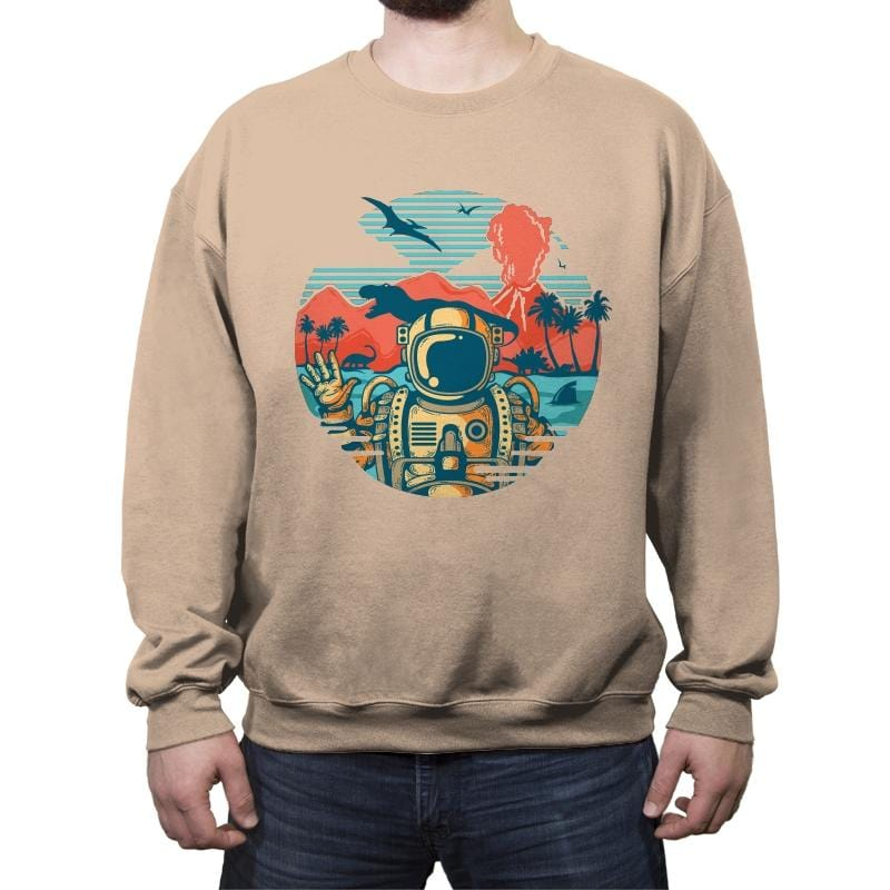 Wrong Vacation - Crew Neck Sweatshirt - Crew Neck Sweatshirt - RIPT Apparel