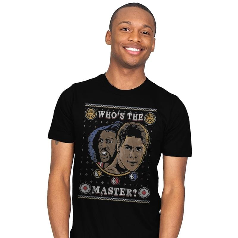 Who's The Master - Ugly Holiday - Mens - T-Shirts - RIPT Apparel