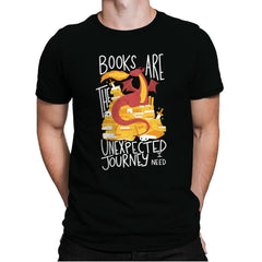 Book Dragon - Mens Premium - T-Shirts - RIPT Apparel