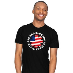 America Pepper - Star-Spangled - Mens - T-Shirts - RIPT Apparel
