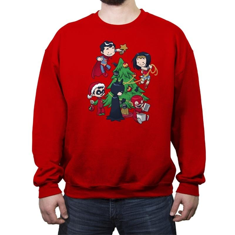 Justice Tree - Crew Neck Sweatshirt - Crew Neck Sweatshirt - RIPT Apparel