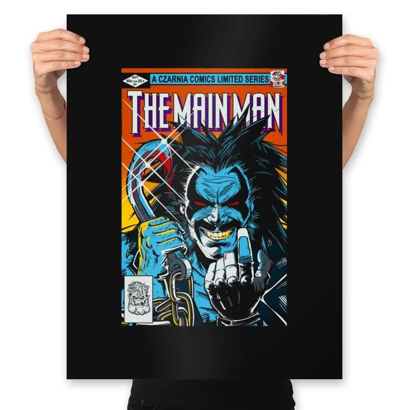 Tha Main Man #1 - Prints - Posters - RIPT Apparel