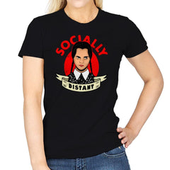 Socially Distant - Womens - T-Shirts - RIPT Apparel