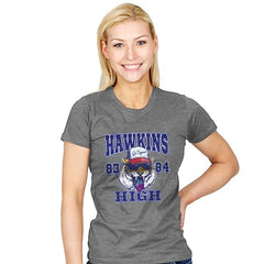Hawkins High School Tigers  - Womens - T-Shirts - RIPT Apparel