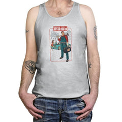 Grand Theft Mario: Mushroom City - Tanktop - Tanktop - RIPT Apparel