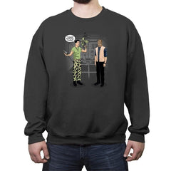 How You Get Aliens - Crew Neck Sweatshirt - Crew Neck Sweatshirt - RIPT Apparel