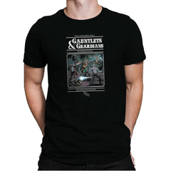 Gauntlets and Guardians Exclusive - Mens Premium - T-Shirts - RIPT Apparel