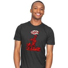 Just a Flesh Wound - Mens - T-Shirts - RIPT Apparel