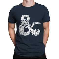 Dice & Dragons - Anytime - Mens Premium - T-Shirts - RIPT Apparel