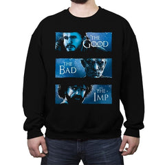 The Good, The Bad and The Imp - Crew Neck Sweatshirt - Crew Neck Sweatshirt - RIPT Apparel