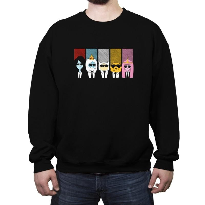 Reservoir Time - Crew Neck Sweatshirt - Crew Neck Sweatshirt - RIPT Apparel